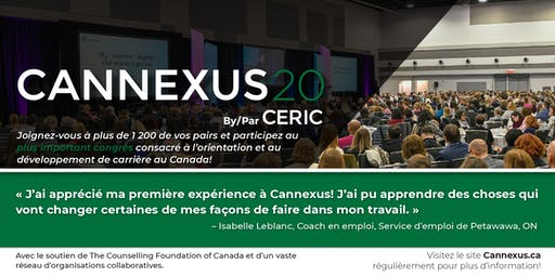 Cannexus20 - tarif hâtif