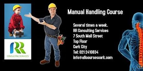 Manual Handling Course Cork tickets