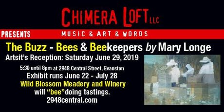 """The Buzz - Bees & Beekeepers"" Artwork by Mary Longe tickets"