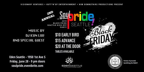 Soul Pride | Black Friday 2019 tickets