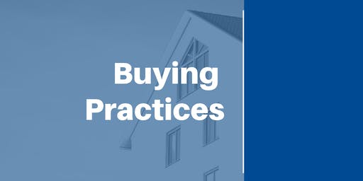 Buying Practices (Day 1 of 2) (12 CEUs #256-002-PL) (Prelicense or Elective)