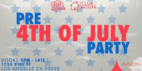 House Music - Avalon - Pre 4th of July  tickets
