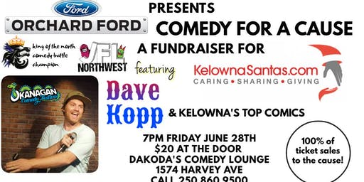 Orchard Ford presents Comedy for a Cause for KelownaSantas.com