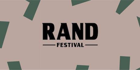 RAND Festival / Festival de Real Ale entradas