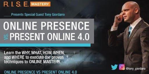 ONLINE PRESENCE VS PRESENT ONLINE 4.0
