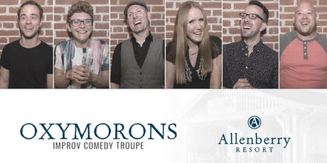 Oxymorons Improv Comedy Returns to The Playhouse tickets