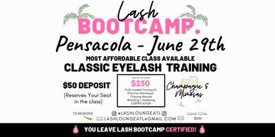 Lash BootCamp - 1 Day Beginner Eyelash Extension Training [Pensacola]