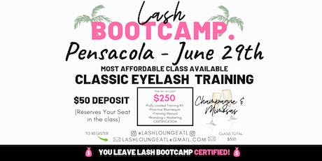 Lash BootCamp - 1 Day Beginner Eyelash Extension Training [Pensacola] tickets