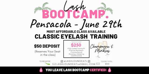 Lash BootCamp - 1 Day Beginner Eyelash Extension Training [Pensacola]