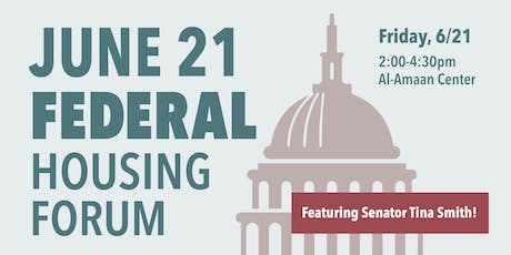 Federal Housing Forum feat. Senator Tina Smith tickets