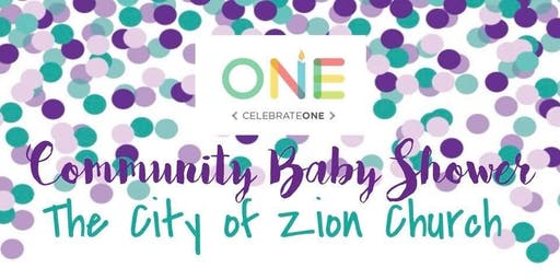 Free Community Baby Shower at The City of Zion Church