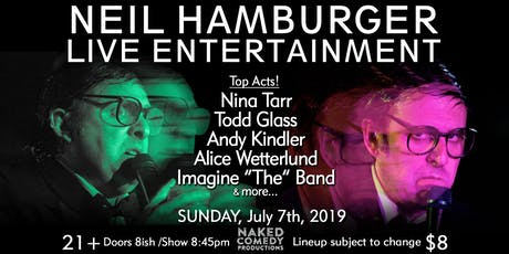 Neil Hamburger LIVE with Nina Tarr, Todd Glass, Andy Kindler, and More! tickets