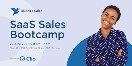 SaaS Sales Bootcamp by Bluebird tickets