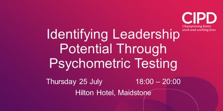 Identifying Leadership Potential Through Psychometric Testing  tickets