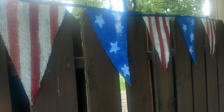 Stars and Stripes Bunting tickets