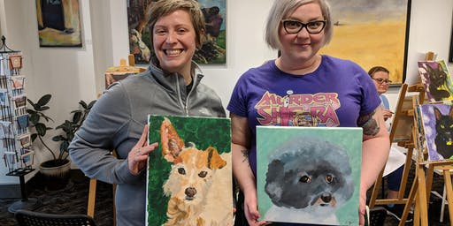 Paint Your Pet Sundays in August
