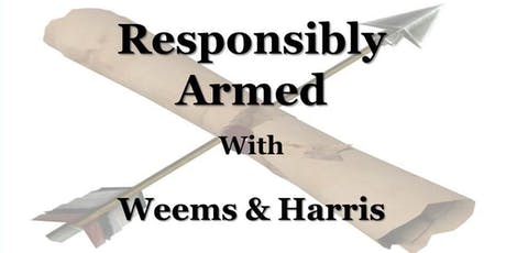 Responsibly Armed w/ Weems & Harris (Savannah, GA) tickets
