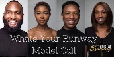 Whats Your Runway: Model Workshop