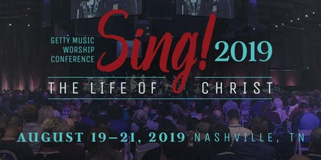 2019 Sing! Getty Music Worship Conference tickets
