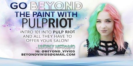 Beyond PulpRiot Demo/Hands on tickets