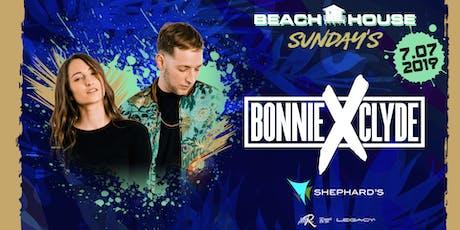 Bonnie X Clyde at Beach House Sundays tickets