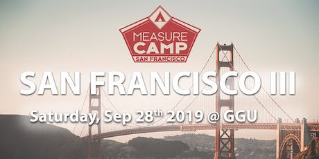 MeasureCamp San Francisco III tickets