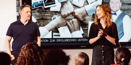 Mastermind X Juli: In 7 Schritten zum Social Media-Konzept Tickets