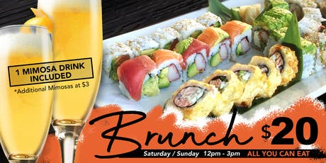 Obba Sushi - Weekend Brunch  tickets