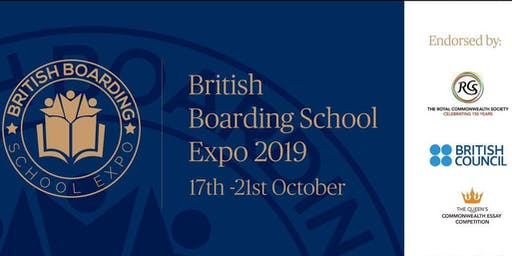 British Boarding School Expo October 2019