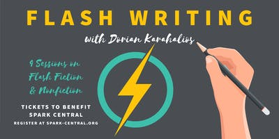 Flash Fiction & Nonfiction with Dorian Karahalios - A Benefit Workshop