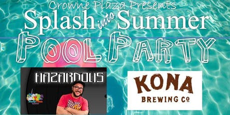 Splash into Summer Pool Party tickets