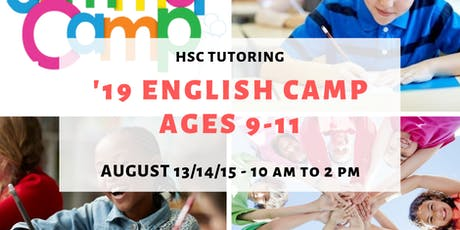 HSC Tutoring '19 English Camp tickets