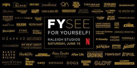 Netflix: FYSee For Yourself!  tickets