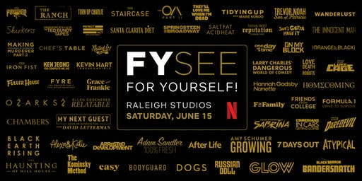 Netflix: FYSee For Yourself!
