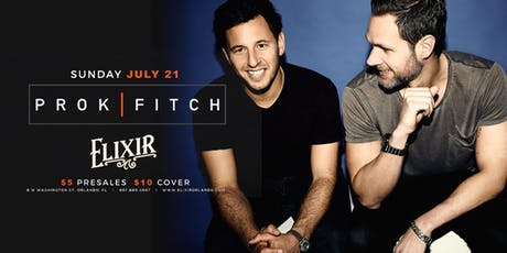 Nofaux Presents: Prok & Fitch @ Elixir Orlando  tickets