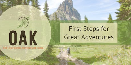 First Steps for Great Adventures Workshop tickets