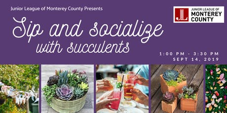 Sip and Socialize with Succulents tickets