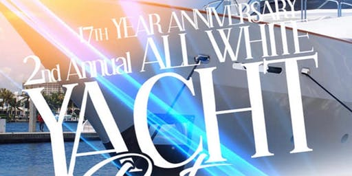 NC DIVAS MC 17TH ANNIVERSARY & 2ND ANNUAL ALL WHITE YACHT PARTY