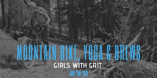 Girls with Grit Mountain Bike, Yoga & Brews