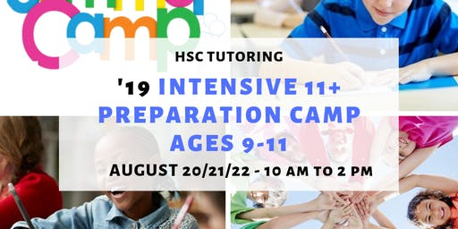 HSC Tutoring '19 Intensive Preparation Camp