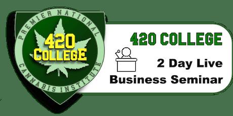 Cannabis Business Training Seminar tickets