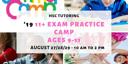 HSC Tutoring Exam Practice Camp