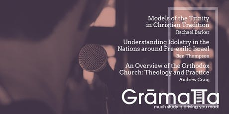 Session 2 - Gramatta - Amateur Theologian's Network tickets