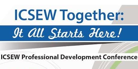 ICSEW Professional Development Conference 2019 tickets