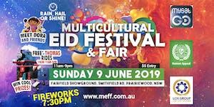 Multicultural Eid Festival & Fair 2019 - Online Entry...