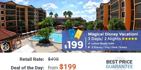 Magical Disney Vacation tickets