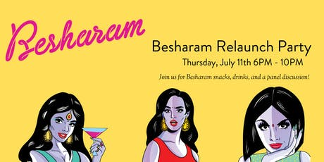 Are You Besharam Enough? Celebrating with Chef Heena  &  Artist Maria Qamar tickets