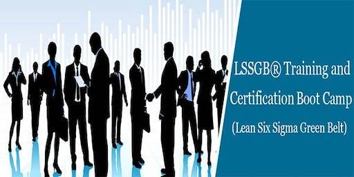 Lean Six Sigma Green Belt (LSSGB) 4 Days Certification Course in Belmont, CA