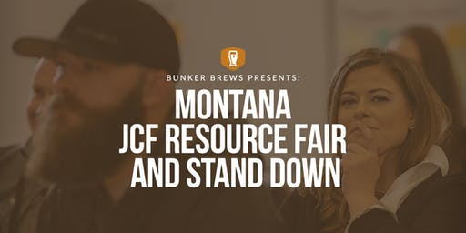 Bozeman Bunker Brews: Montana JCF Resource Fair and Stand Down
