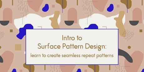 Intro to Pattern Design tickets